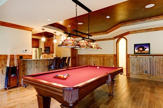 pool table room sizes in fort smith